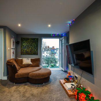 L-Shape Dormer Conversion living space