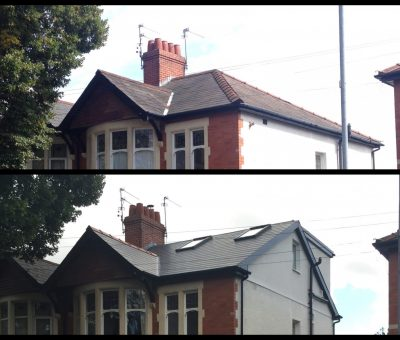 Loft Conversion Types In Worthing Rear Dormer Hip To Gable Roof Light